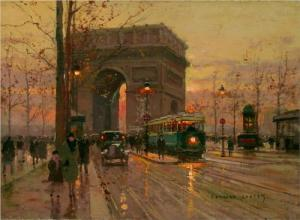 Triumphal Arch by Edouard Cortes