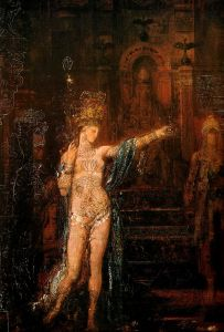 Salome by Gustave Moreau.